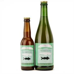 Les brasseurs de la Jonte - White French beer Fario - 5%