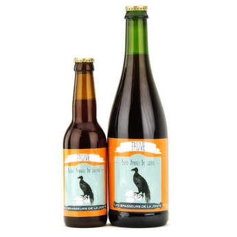 Les brasseurs de la Jonte - Amber French beer Fauve 5.5%