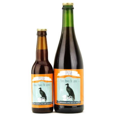 Les brasseurs de la Jonte - Bière Fauve de Lozère - Ambrée 5.5%