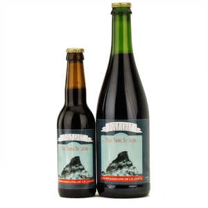 Les brasseurs de la Jonte - Dark brown French beer Pounchut 6%