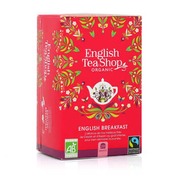 English Tea Shop - Thé English Breakfast bio - sachet mousseline