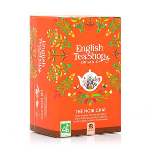 English Tea Shop - Organic Black tea Chai