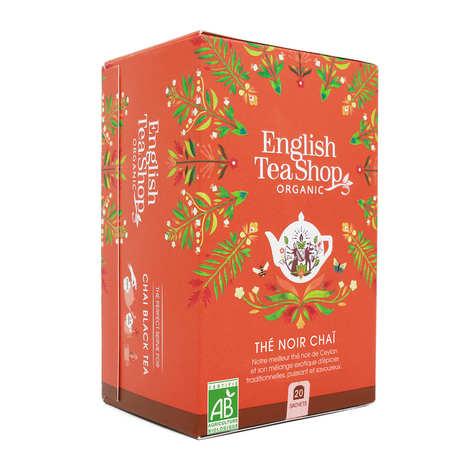 English Tea Shop - Thé noir Chaï et épices de Ceylan bio en sachets