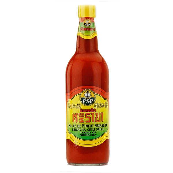 Sauce piquante au piment Sriracha