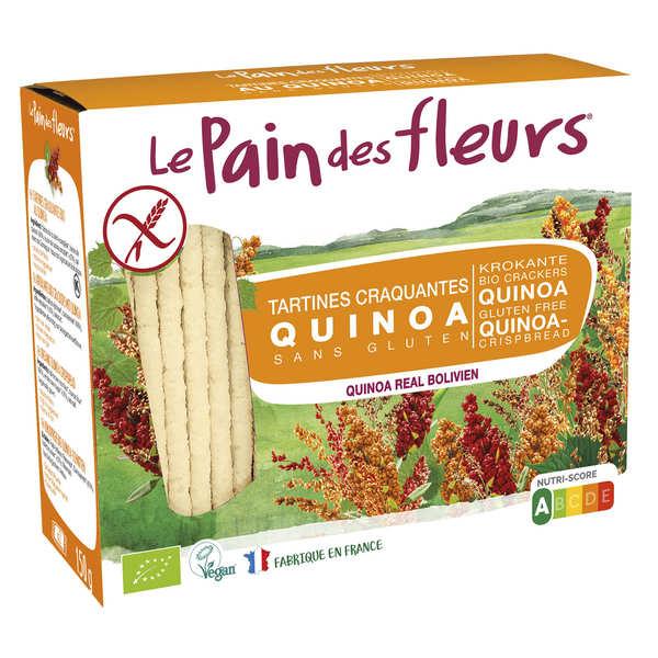 Le Pain des Fleurs au quinoa – sans gluten