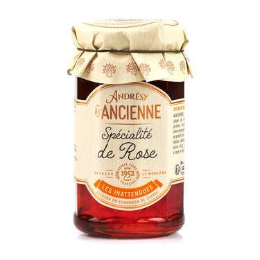 Confit de pétale de rose au sucre de canne