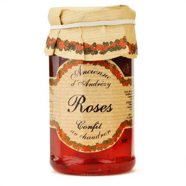 Rose jam whith cane sugar