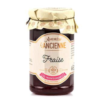 Andresy confitures - Confiture extra de fraise au sucre de canne
