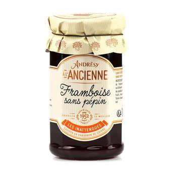 Andresy confitures - Confiture extra de framboise sans pépin au sucre de canne