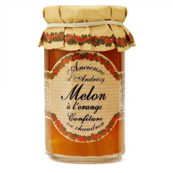 Confiture extra de melon à l'orange au sucre de canne