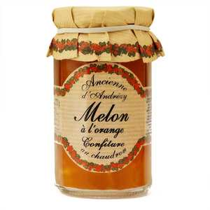 Andresy confitures - Confiture extra de melon à l'orange au sucre de canne