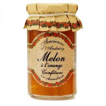 Andresy confitures - Confiture extra de melon à l'orange au sucre de canne
