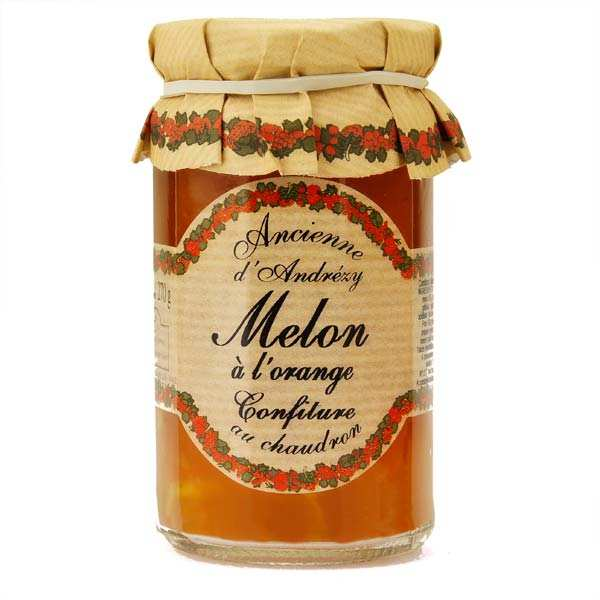 Confiture extra de melon à l'orange au sucre de canne
