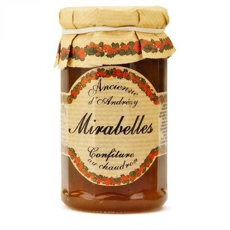 Andresy confitures - Confiture extra de mirabelle au sucre de canne