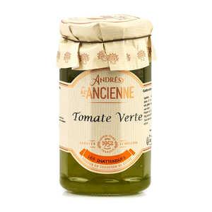 Andresy confitures - Confiture extra de tomate verte au sucre de canne