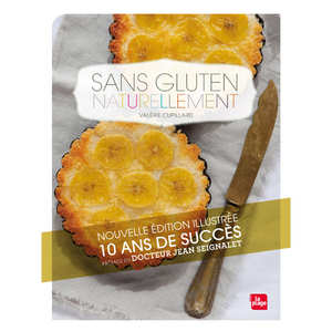 Editions La Plage - Sans gluten naturellement (french book)