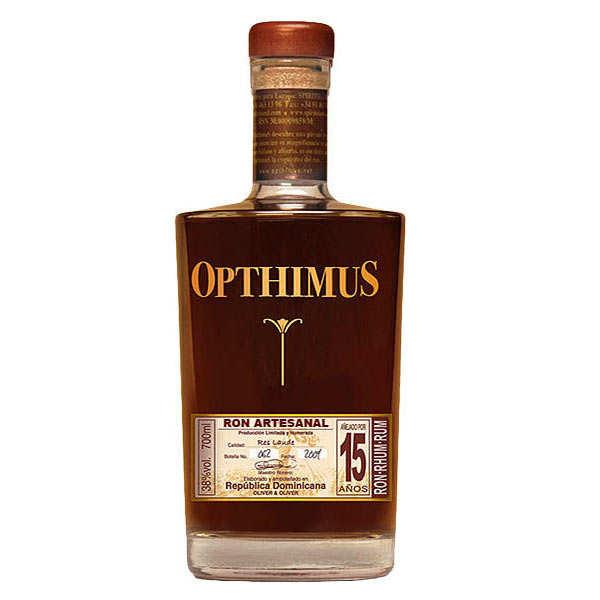 Opthimus 15 ans - rhum dominicain - 38%