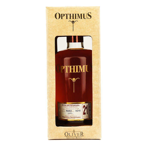 Opthimus 21 years-old - ron dominicain - 38%