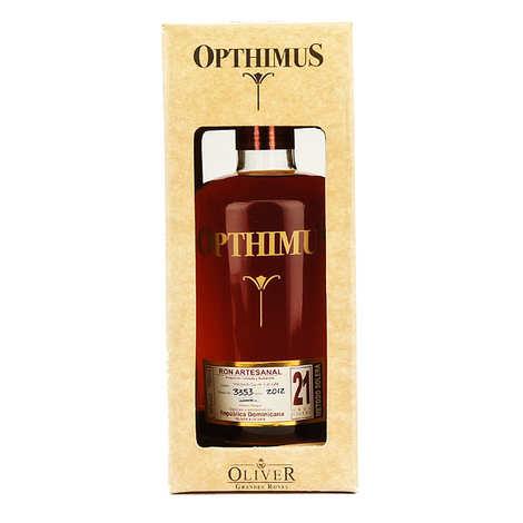 Opthimus - Opthimus 21 ans - rhum dominicain - 38%