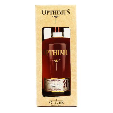 Opthimus - Opthimus 21 years-old - ron dominicain - 38%