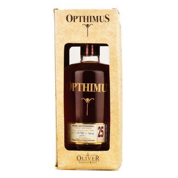 Opthimus 25 years-old - ron dominicain - 38%