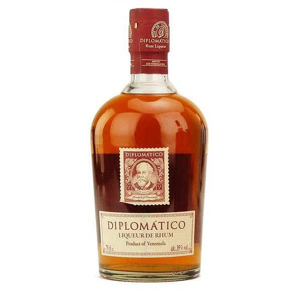 Diplomatico liqueur de rhum - Rhum du Venezuela 35 %
