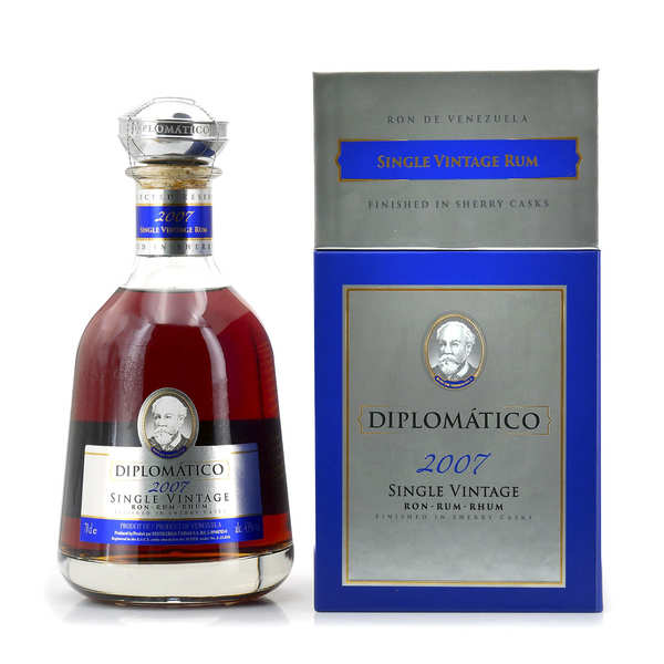 Diplomatico Single Vintage - Rhum du Venezuela - 43%