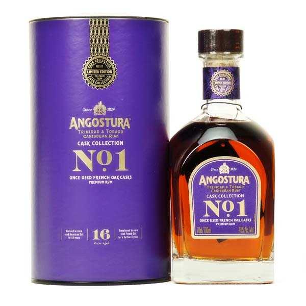 Angostura premium n°1 - Rum from Trinidad & Tobago - 40%
