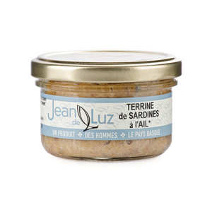 Batteleku - jean de Luz - Terrine de sardine à l'ail