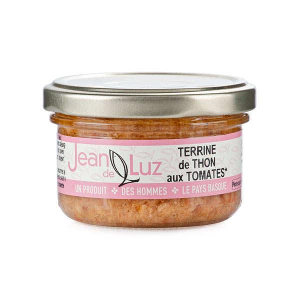 Terrine de thon à la tomate