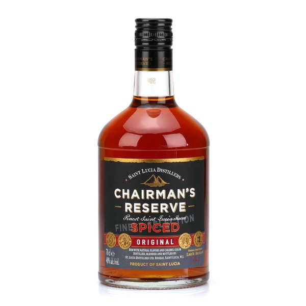 Chairman's Reserve Spiced rhum de Sainte Lucie - 40%