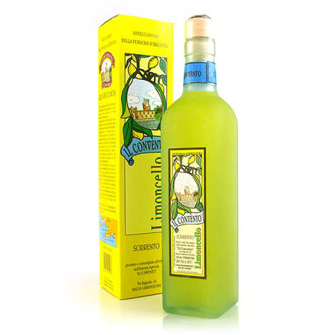 Il Convento - Limoncello of Sorrento - lemon liqueur - 34%