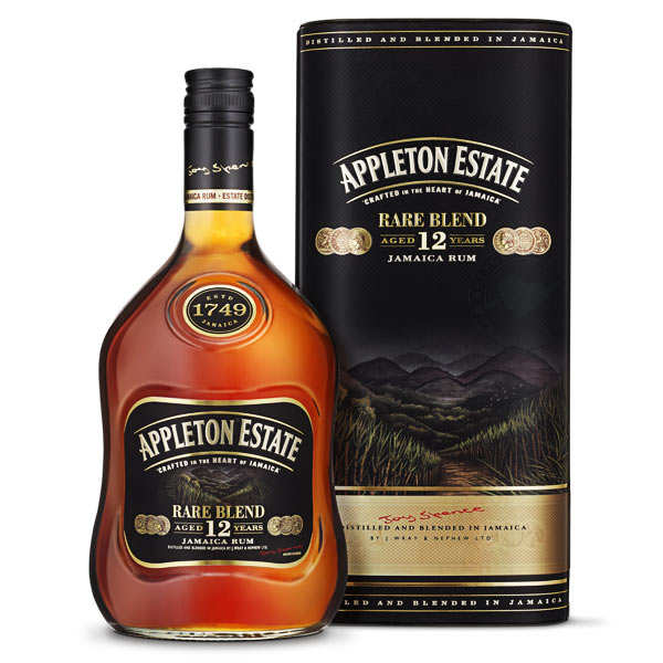 Appleton Estate Rare Blend 12 ans - Rhum de la Jamaïque - 43%