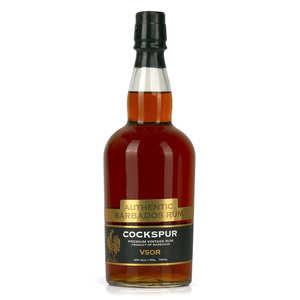 Cockspur rhum - Cockspur 12 ans -  rum of barbados - 40%