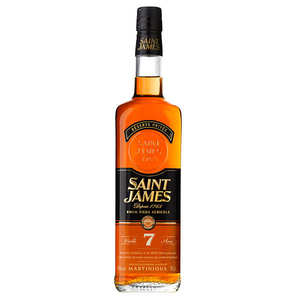 Saint James - Saint James 7 years old- Amber rum - 43%