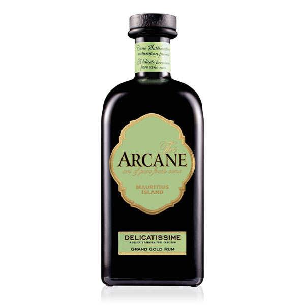 Arcane Delicatissime rhum ambré de l'Ile Maurice - 41%