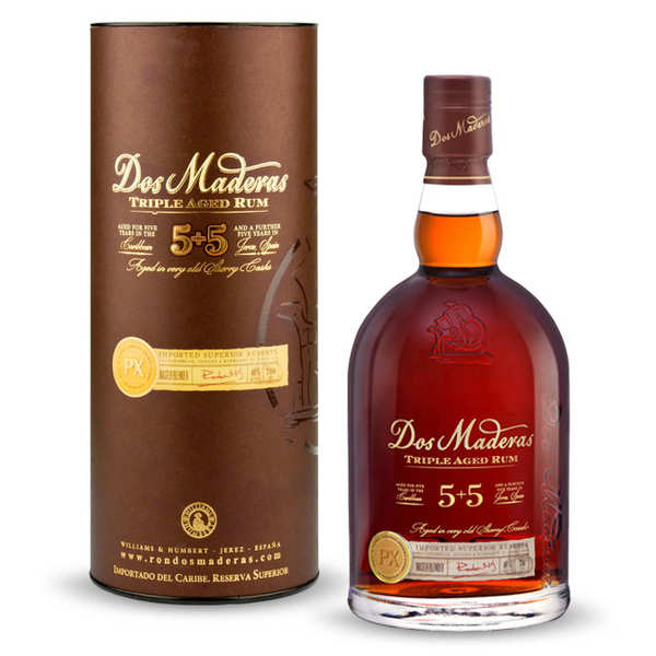 Rhum Dos Maderas PX 5+5 - 10 years old- 40%