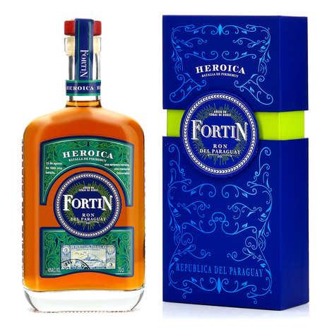 Fortin - Fortin Heroica - rhum du Paraguay - 40%