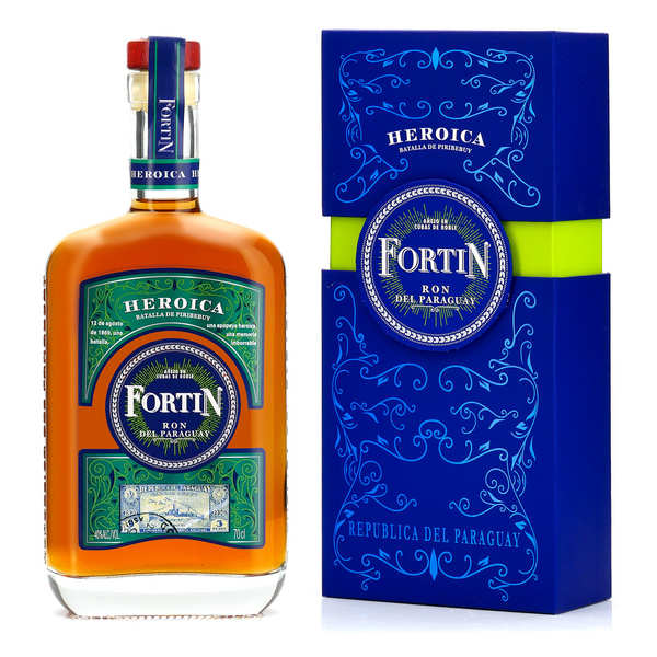 Fortin 8 years old - Paraguay rum - 40%