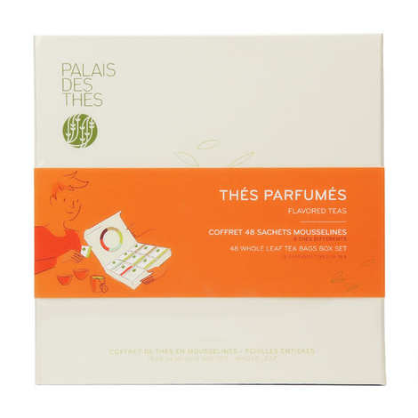 Palais des Thés - Selection of Muslin Teabags - Whole Leaf Tea