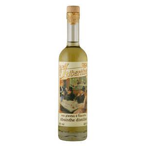 Distillerie Paul Devoille - Libertine originale - spiritueux aux plantes d'absinthe - 55%