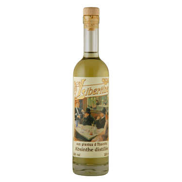 Libertine originale - spiritueux aux plantes d'absinthe - 55%