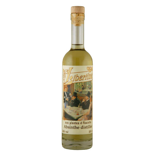 Libertine spirit with absinthe plant extract - 55%