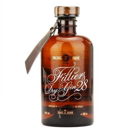 Filliers - Filliers dry gin 28 (Belgique) - 46%