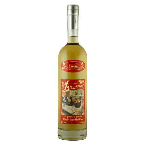 Distillerie Paul Devoille - Libertine amer - spiritueux aux plantes d'absinthe - 68%