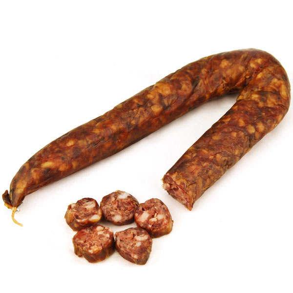 Figatelli - saucisse fraîche spécialité de l'île de beauté