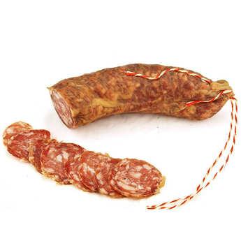Charcuterie Monte Cinto - Saucisson de porc spécialité de l'île de beauté - Salciccia