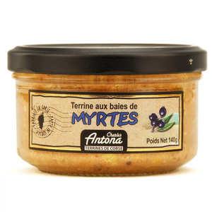 Charles Antona - Terrine de porc aux baies de myrtes - spécialité Corse