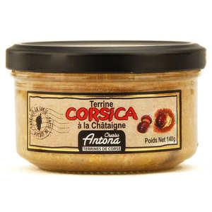 "Charles Antona - ""Corsica"" terrine with chesnut - Corsican speciality"