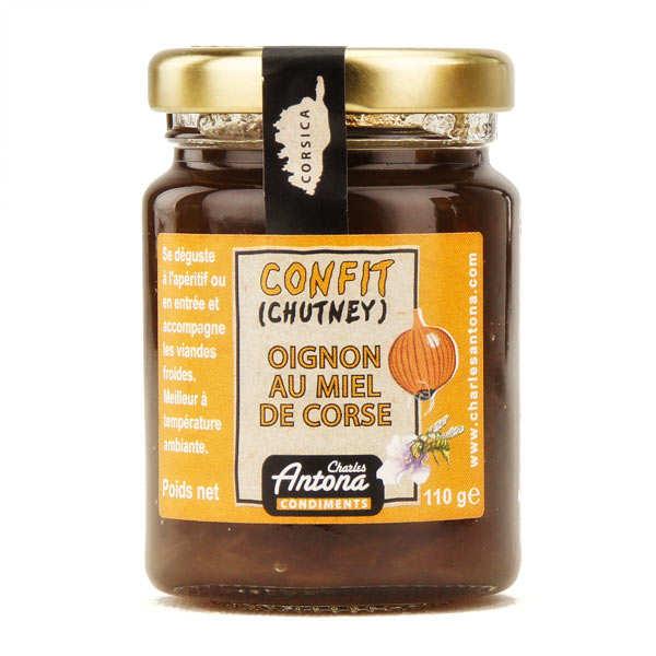 Chutney d'oignons au miel de Corse